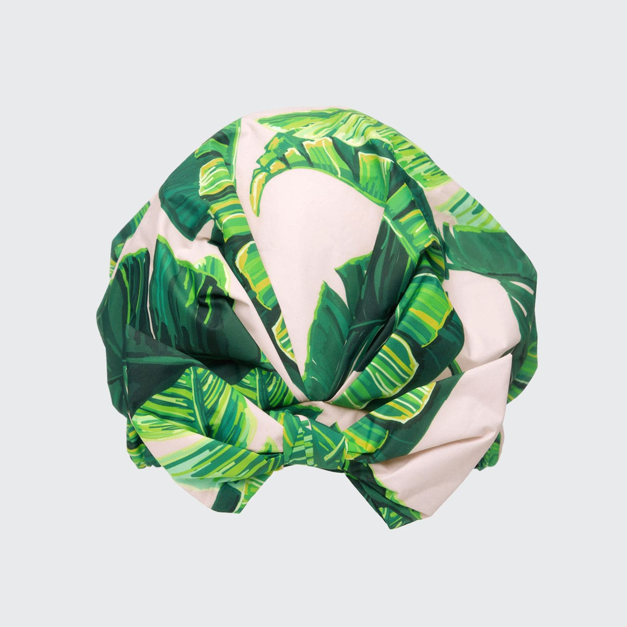 Luxury Shower Cap - Palm Leaves in Recycled Polyester Shower Caps Shower Caps