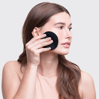 Eco-Friendly Mini Face Rounds 7pc - Black Cleanse Cleanse