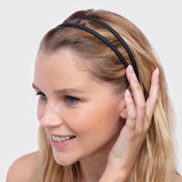 Thin Non-Slip Headbands 3pc - Recycled Plastic Hair Accessories Hair Accessories